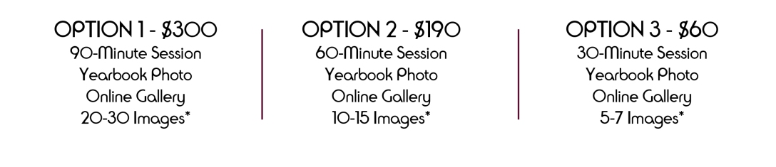 2015 Senior Photo Pricing | Sheila Karner Photography