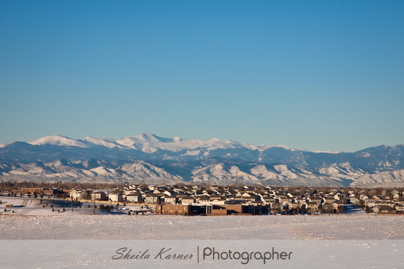 Denver Front Range Mountains | Sheila Karner,Photographer