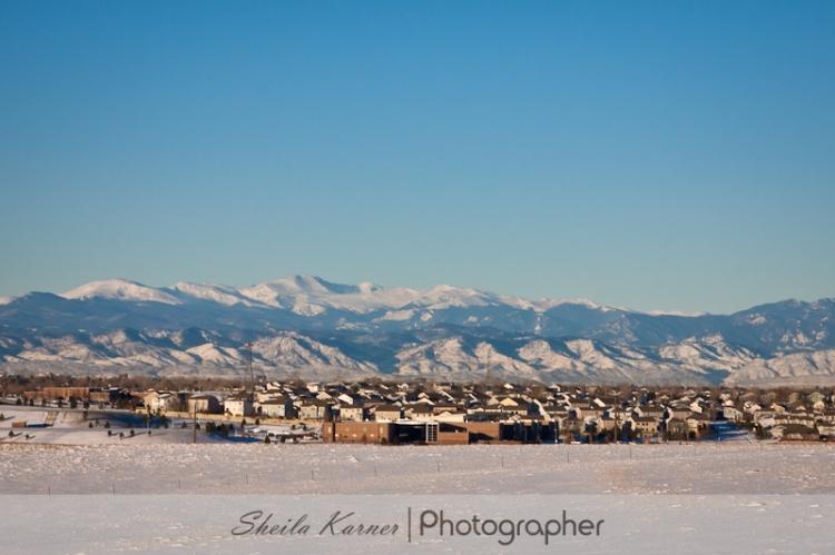 Denver Front Range Mountains | Sheila Karner,Photographer