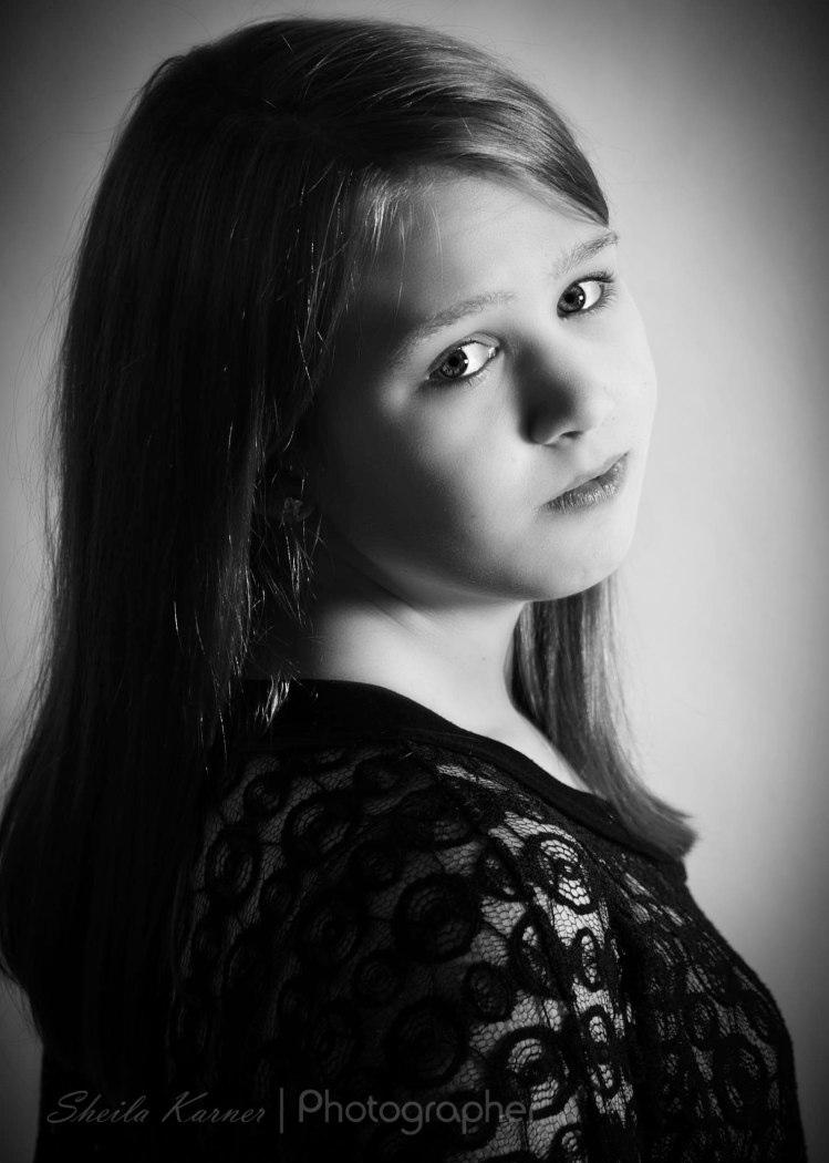 Black & White Hollywood Glamour | Denver Area Portrait Photography