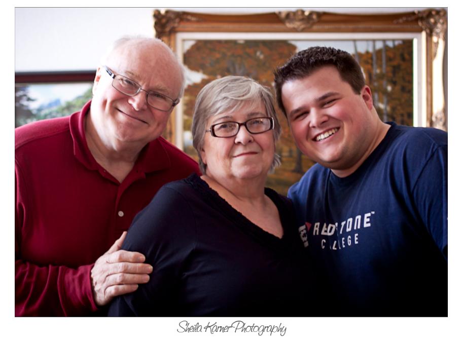 Grandparents with Grandson | Denver Portrait Photographer