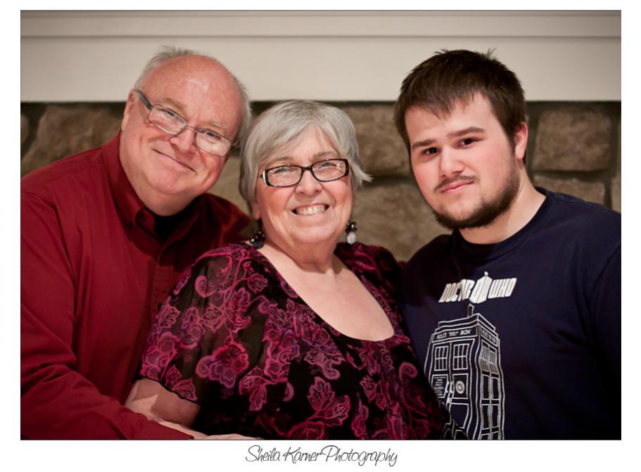 Grandparents and Grandson | Denver Portrait Photographer