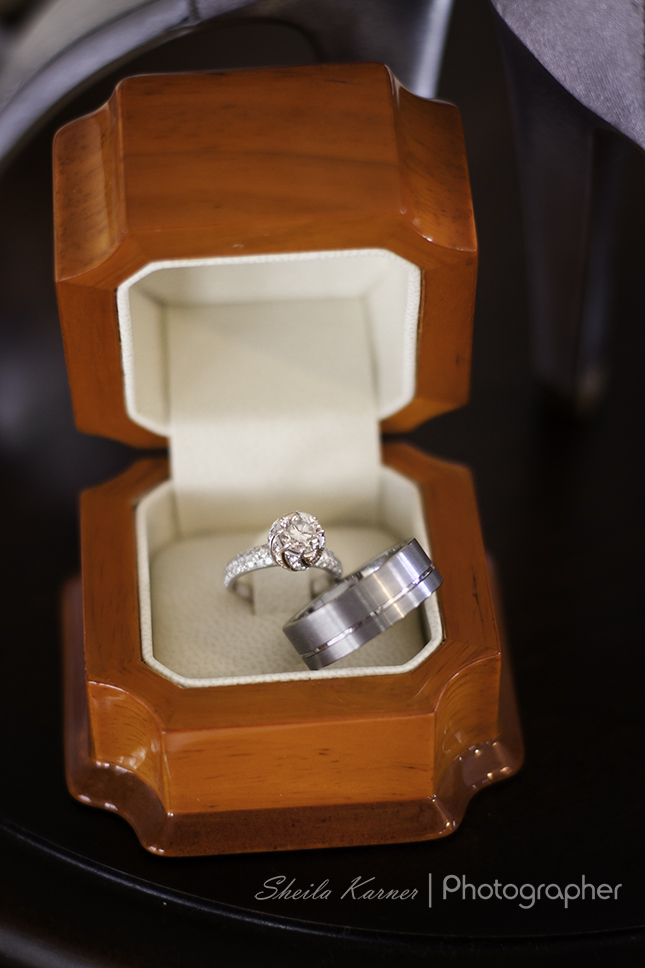 Wedding Rings in Ring Box