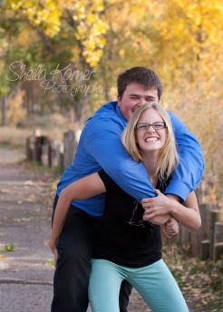 Engagement Session | Sheila Karner Photography -- Maybe we goof off more than a bit!