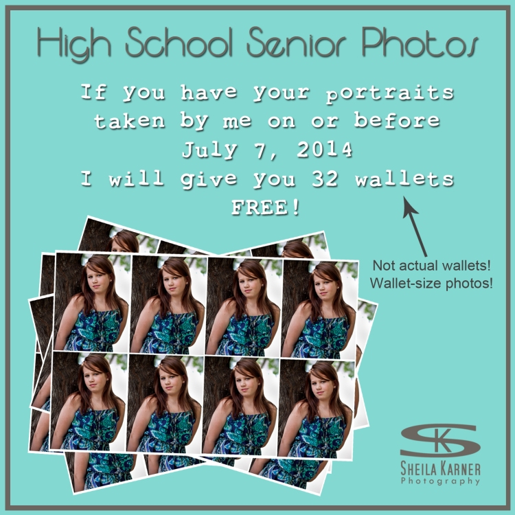 FREE Wallet Size Photos!