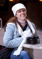 Denver Pavilions | Sheila Karner Photography - I love that the camera is included in this shot!