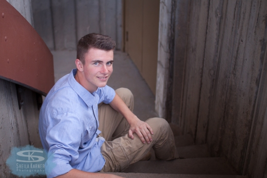 Trevor | High School Senior Photos | Sheila Karner Photography