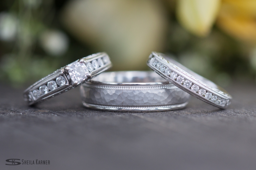 Wedding Ring Shot | Sheila Karner Photography