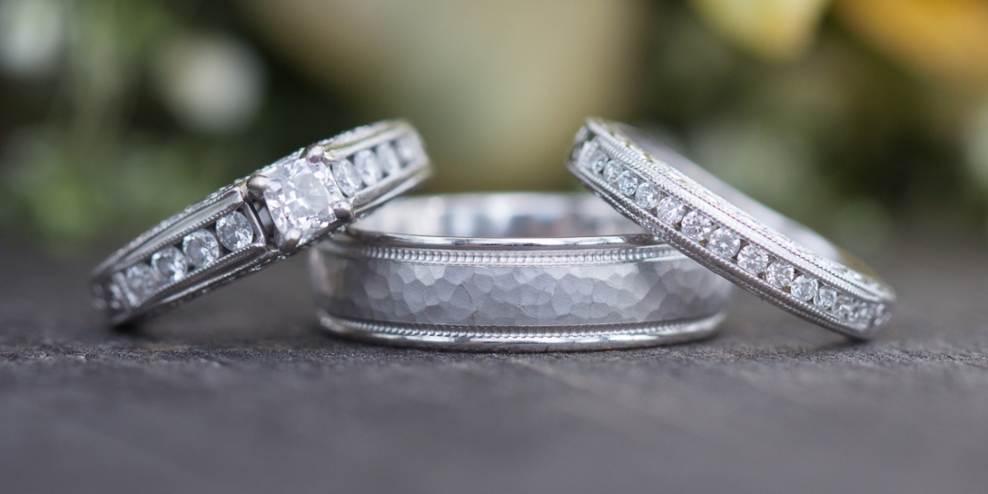 Wedding Ring Shot | Sheila Karner Photography
