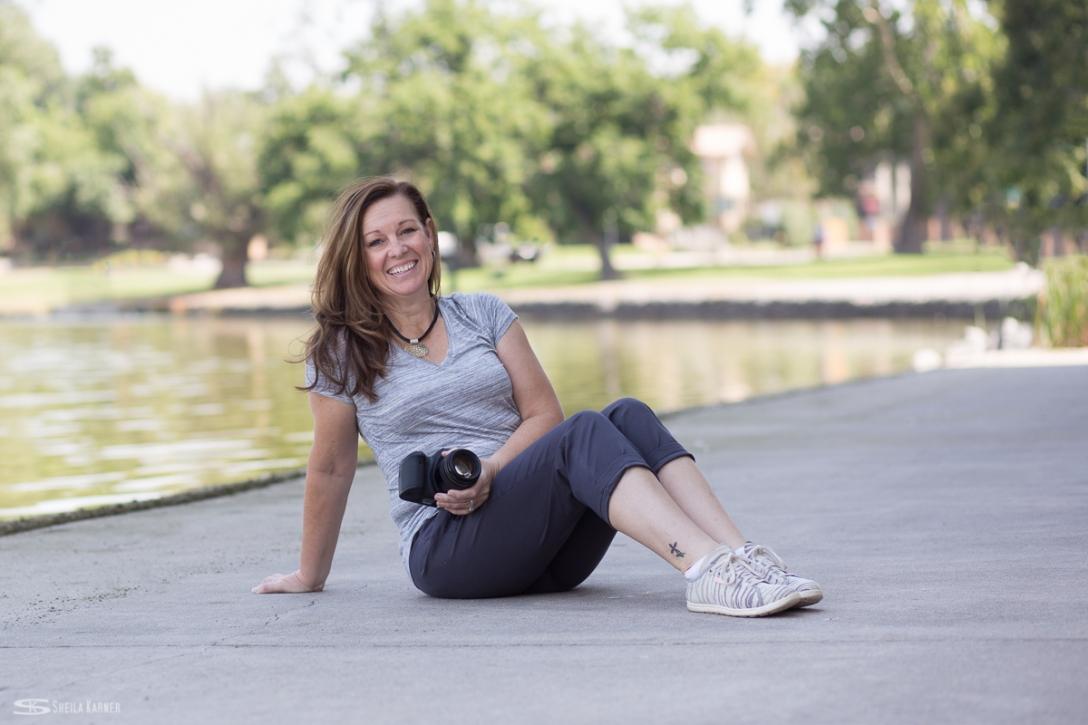 Photography headshots in the park. Sheila Karner Photography