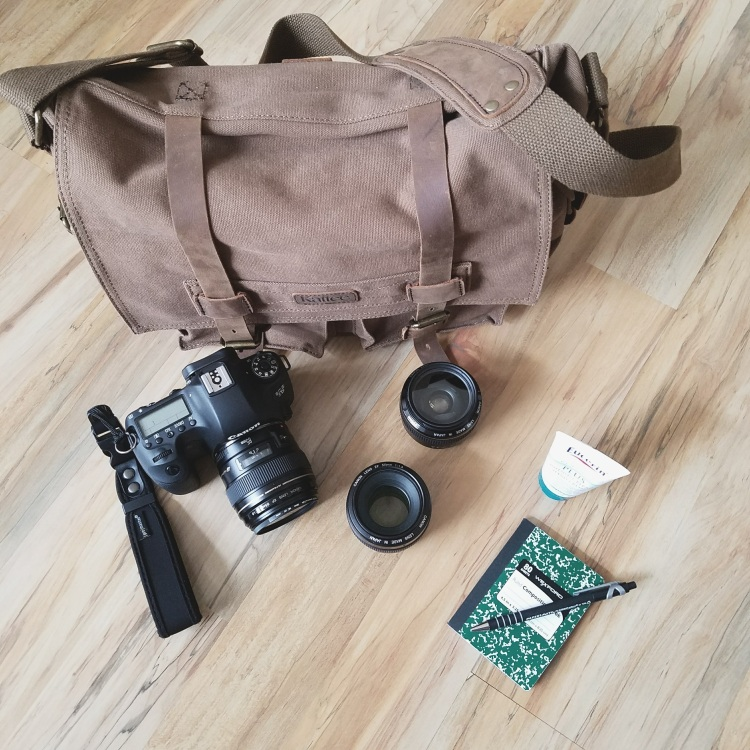 What's in My Bag? Contents of a photographer's camera bag. What kind of camera do you use?