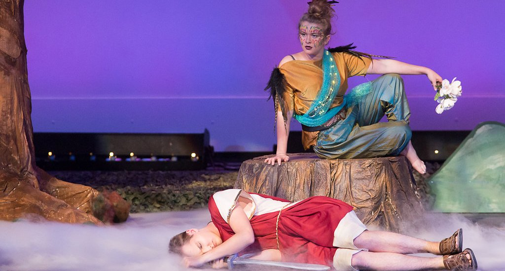 Midsummer Night's Dream - high school theater - Sheila Karner Photography