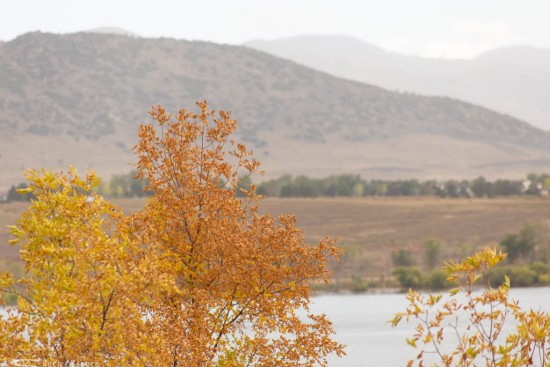 Fall at Chatfield State Park in Colorado - 2018